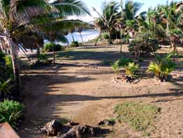 utila honduras vacations paradise cove view of cove from deck