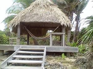 Palapa Paradise Cove Utila Honduras